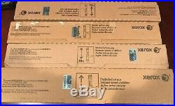 Xerox WorkCentre 7525 7530 7535. Genuine Set of Toners (4) (CMKY)